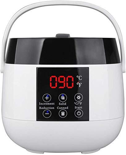 Xyfw Wachswärmer Warmwachsgerät Heisswachs Enthaarungsgerät Haarentfernung Geräte Wachserhitzer Enthaarungswachs Gerät Warm Wax Gerät Heisswachsgerät