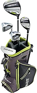 New 2019 Top-Flite Junior Boys Golf Complete Set for Ages 5-8 Years Old - Height 46-52'' - Left Handed