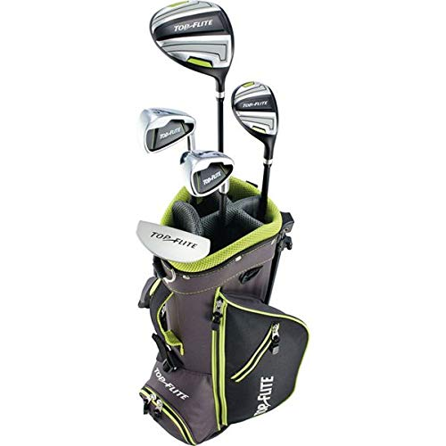 New 2019 Top-Flite Junior Boys Youth Golf Complete Set for Ages 5-8 Years Old - Height 46-52'' (Right)