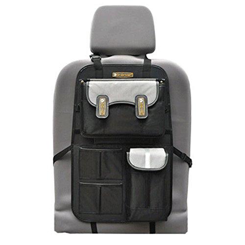 De haute qualité de voiture Organiseur pour dossier de siège de suspension type Oxford Sac de rangement, Noir