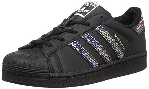 adidas Superstar C - Zapatillas de Deporte para niña, Color Negro, Talla 32 EU