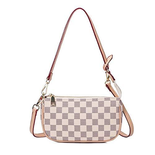 Mdsfe 2020 Neue Single Shoulder Bag Damen europäische und amerikanische Modetasche Damen kleine Umhängetasche - Beige