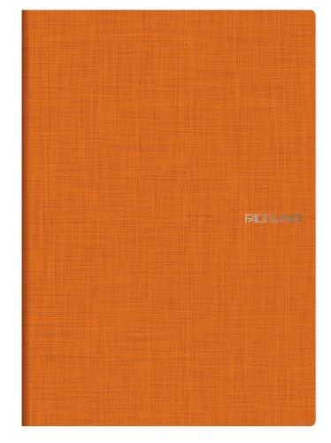 Fabriano EcoQua - Quaderno Graph 40 fogli, 5mm , Confezione da 5 pezzi