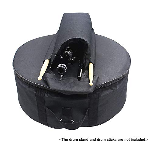 EasyBuying Snaredrum-Rucksack, strapazierfähig, 35,6 cm (14 Zoll), mit Schultergurt, Außentaschen