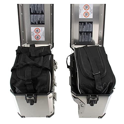 エンジン For B-M-W Adventure ADV R1200GS R 1250 GS LC ADV F 800 GS Motocicleta Silla Interior Bolsa de Equipaje PVC Bolsas de Equipaje Repuestos de Motocicleta (Color : Two Side Bags)