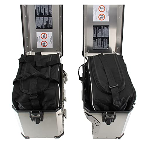 エンジン for B-M-W Adventure ADV R1200GS R 1250 GS LC ADV F 800 GS Moto Saddle Saddle Bag in INERANO Borsa for Bagagli PVC Ricambi per Motocicli (Colore : Two Side Bags)