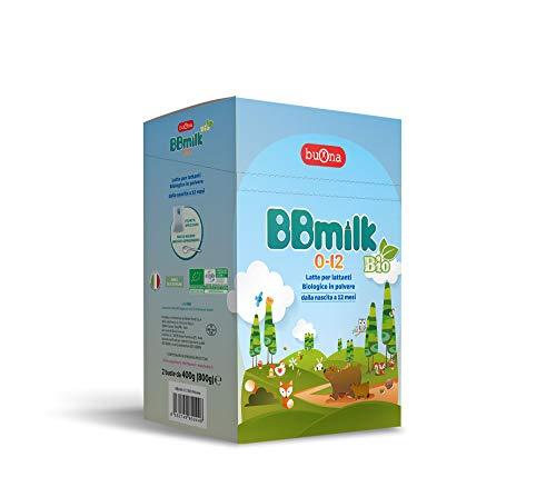 BBmilk 0-12 Bio polvere – Nuova formula ancora più ricco - Latte biologico in polvere per lattanti – 800g
