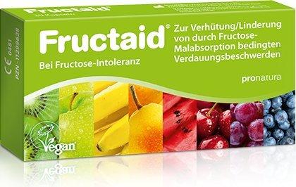 Fructaid bei Fructose Intoleranz Spar-Set 2x60KApseln, zur Vermeidung/Linderung von durch Fructose-Malabsorption bedingten Verdauungsbeschwerden, vegan