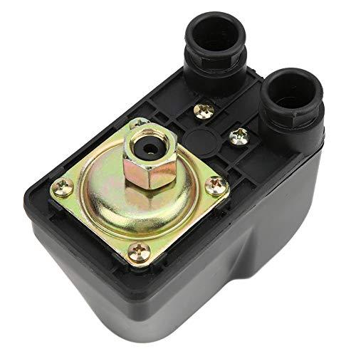 Control de bomba de agua, Control automático Apagado automático Interruptor de presión de la bomba de agua, Control de agua, para bombas autocebantes Bombas de agua Bombas de jardín Bombas