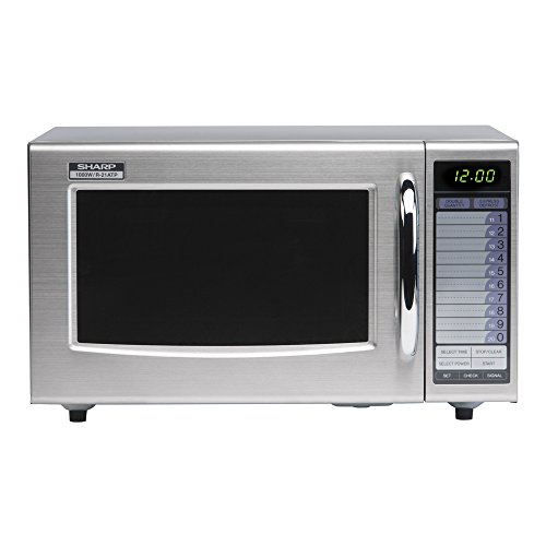 Sharp R21AT 1000 W Commercial Microwave Oven