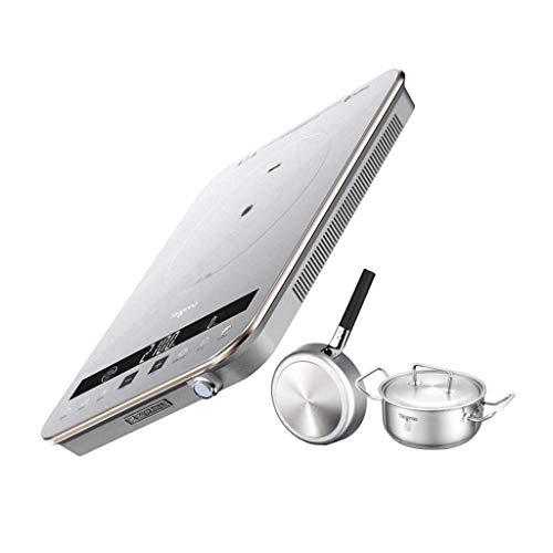 WCY Hot Plates Einzel digitaler Herd tragbare Reiskocher, 230 ℃ gesundes Kochen, Smart Start-Taste, Kratzfest und Rauschunterdrückung yqaae (Color : 2)