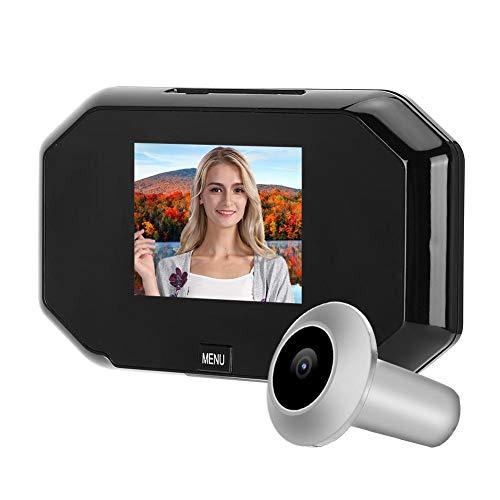 Spioncino Digitale Porta, Telecamera Spioncino, Spioncino Elettronico per Display Smart Screen 3 in 720p HD con Visione Notturna, Facile Da Usare, per la Sicurezza Domestica