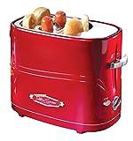 Nostalgia 2-Slice Red Hot Dog Toaster-HDT600RETRORED