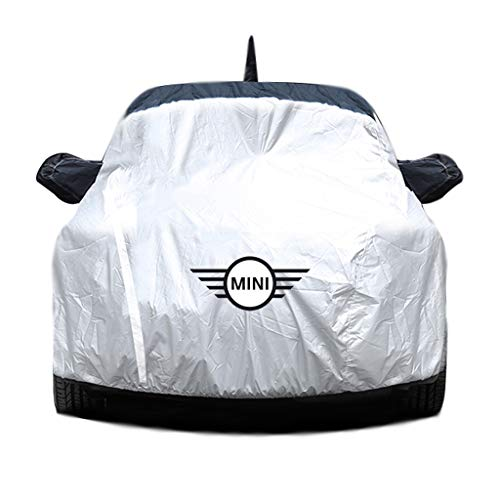 Cubierta de coche Cubierta impermeable del coche / Compatible con cubiertas MINI COOPER MINI R56 / R55 CLUBMAN / PAISANO R60 / R61 paceman / F56 / F55 / F54 / F60 / All Weather prueba de viento imperm