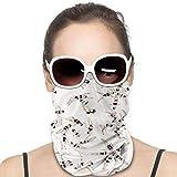 Swinmming - Pañuelo elástico antipicaduras para la cabeza a prueba de sol, multifuncional, suave, versátil para el cuello, para deportes al aire libre