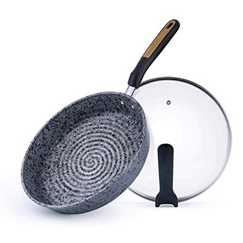 Diaod Antiadherente sartén Antiadherente Libre del Revestimiento de Piedra de la sartén Pan con baquelita manija Tortilla Pan Conveniente for Todo Estufa