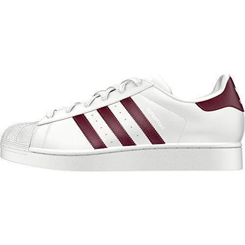 adidas Damen Superstar W Fitnessschuhe, Weiß (Blanco 000), 37 1/3 EU