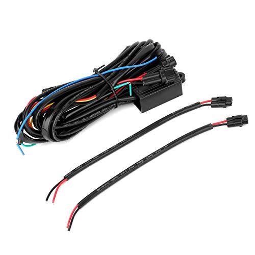 DRL Controller Auto Auto LED Tagfahrlicht Relais Kabelbaum Dimmer Ein/Aus Schalter Standlicht Relais - Mehrfarbig