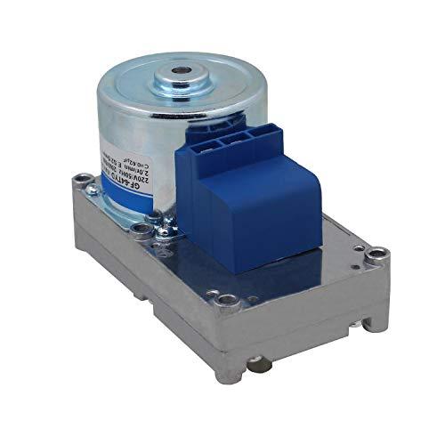 220v motoriduttore coclea stufa a pellet 2 3.5 rpm motore stufa per trasportatore vite coclea carico spirale pellet