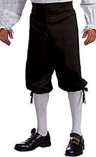Forum Unisex Adult Black Pirate Renaissance Colonial Knickers