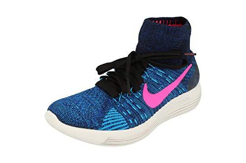 Nike Damen Lunarepic Flyknit 818677-004 Trail Running Sneaker, schwarz, 38 EU