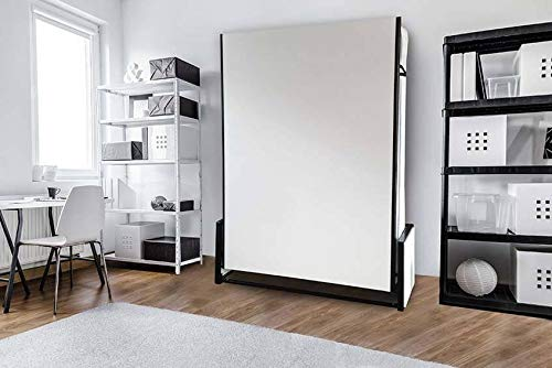 Wallbedking - Cama Doble Vertical de 135 x 190 cm, Cama Plegable