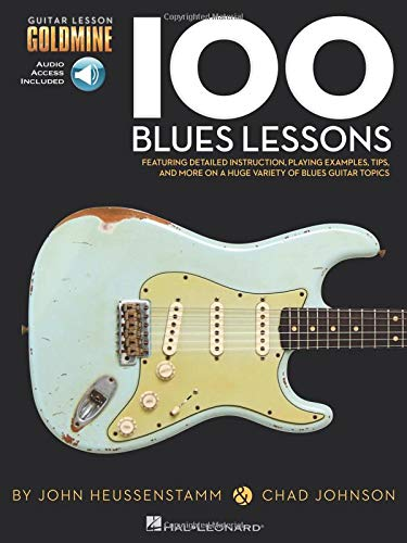 100 Blues Lessons: Guitar Lesson Goldmine: Lehrmaterial, CD für Gitarre: Guitar Lesson Goldmine Series