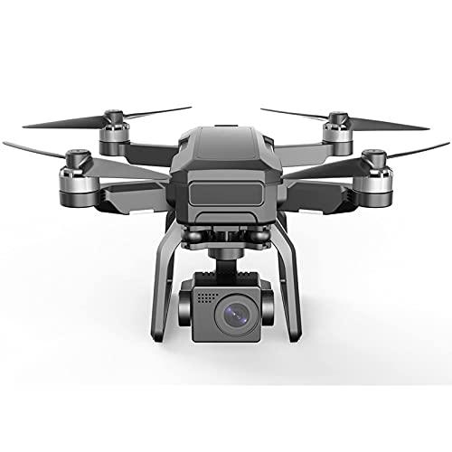 JANEFLY Drones con cámara Gimbal 4K EIS de 3 Ejes para Adultos, Tiempo de Vuelo de 25 Minutos, Motor sin escobillas, Zoom de 5 Veces, Video en Vivo 5G FPV, Retorno automático a casa, sígueme