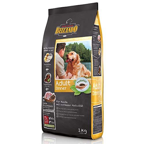 Belcando Adult Dinner [1 kg] Hundefutter | Trockenfutter für Hunde | Alleinfuttermittel für ausgewachsene Hunde Aller Rassen ab 1 Jahr