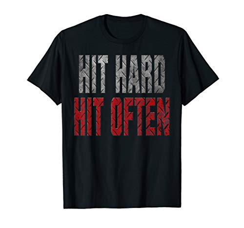 WWE Roman Reigns Verbage Hit Hard T-Shirt