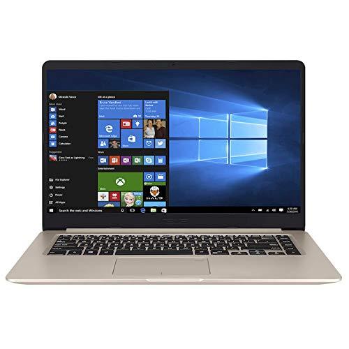 ASUS VivoBook S510UR-BR175T notebook/portatile Nero, Oro Computer portatile 39,6 cm (15.6') 1366 x 768 Pixel 1,60 GHz Intel Core i5 di ottava generazione i5-8250U