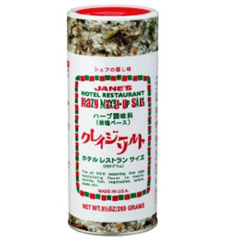 日本緑茶 クレイジーソルト ホテルレストランサイズ ボトル269g [1725]