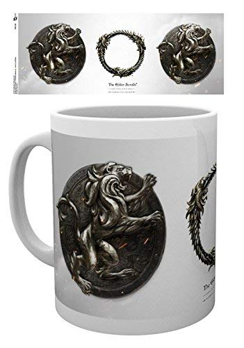 RUAN PP : The Elder Scrolls Online, Daggerfall Photo Coffee Mug 11OZ For Mother Stepmother Sister Aunt In Mother's Day Christmas Birthday Woman's Day New Year's Eve Thanksgiving Easter May Day