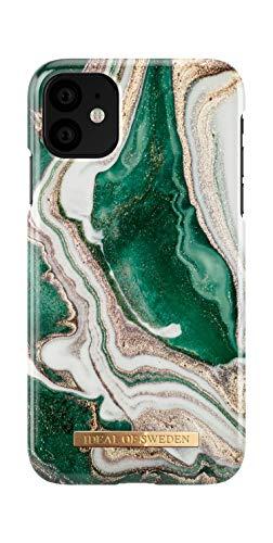 Preisvergleich Produktbild iDeal Of Sweden Handyhülle für iPhone 11 (Golden Jade Marble)