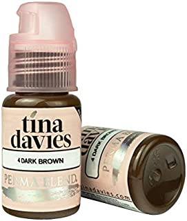 Tina Davies X Permablend - Dark Brown 1/2oz Pigment
