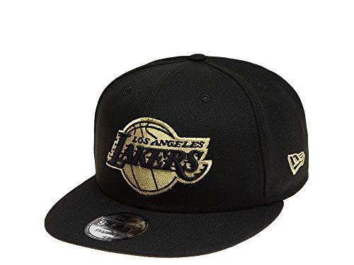 New Era Snapback Cap der Los Angeles Lakers - NBA Basketball Kappe in schwarz - Größenverstellbar