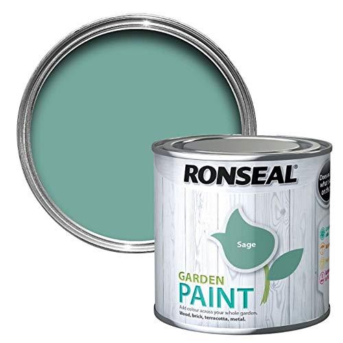 RONSEAL RSLGPSA750 GPSA750 Garden Paint Sage 750ml, 750 ml