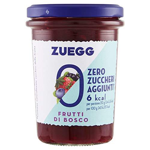 Zuegg Zero Zuccheri Aggiunti Frutti di Bosco, 220g