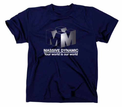 #2 Fringe T-Shirt, Massive Dynamic, TV-Serie, dvd, marineblau, XXL