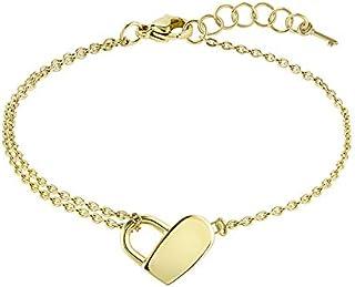 HUGO BOSS WOMEN'S IONIC GOLD PLATED STEEL BRACELETS -1580069