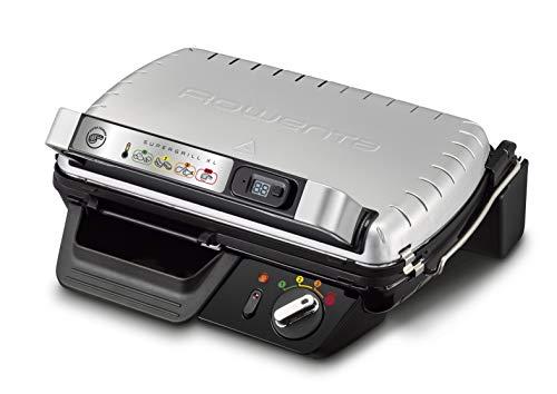 Rowenta GR6010 - Bistecchiera Xl 800 Comfort argento