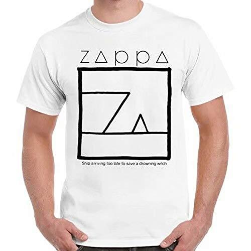 Frank Zappa schip aankomen te laat om een verdrinkende heks retro t-shirt te redden 421