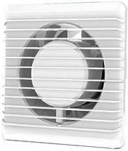 Ventilador extractor de ba/ño aire 150 mm Silencioso con v/álvula Anti-retorno+mosquitera integrada,280 m3 h.Ideal para ba/ño,cocina,inodoro,oficina,silencioso,alta calidad,Garant/ía 5 A/ÑOS