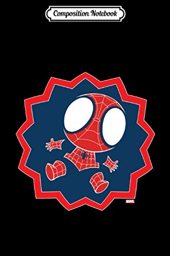 Composition Notebook: Mini Spiderman in Callout Graphic Spider Man Superhero Verse Journal...