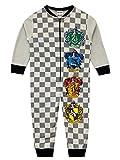 HARRY POTTER Pijama Entera para niños Hogwarts Gris 3-4 Años