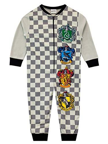 HARRY POTTER Pijama Entera para niños Hogwarts Gris 9-10 Años 21