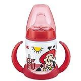 NUK Disney First Choice - Taza para aprender, 6 – 18 meses, boquilla de silicona a prueba de fugas, anticólico, sin BPA, 150 ml, Jessie (Toy Story)