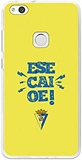 Cádiz C.F. Flexible Gel Cover for Huawei P10 Lite - Official Licensed Cadiz C.F. Lema1