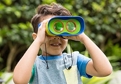 Educational Insights GeoSafari Jr. Kidnoculars Binoculars for Kids, Toddler & Kids Binoculars, Outdoor Play, Camping Gear, Ages 3+