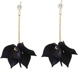 TMJNKK Earrings Women'S Multi-Layer Petal Fashion Stud Earrings Tassel Earrings Jewelry Party Accessories